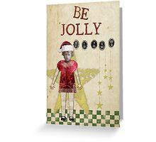Vintage Christmas Altered Art Christmas Card Greeting Card