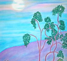 Purple Mountain Magic by Christine Chase Cooper