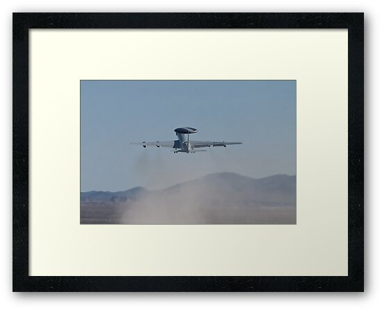 E-3A Sentry NATO AWACS, LX-N90446, Kicking Up Sand by Henry Plumley