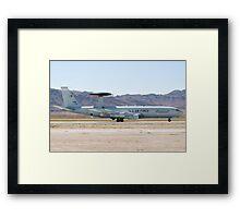 E-3A Sentry OK AF 75 0560 Landing Framed Print