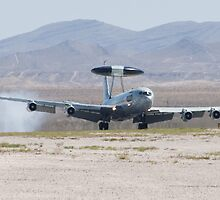 E-3A Sentry OK AF 75 0560 Touches Down by Henry Plumley