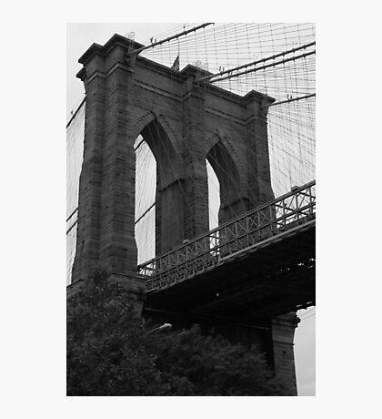 New York Brooklyn Bridge Photographic Print