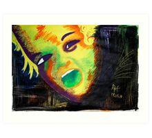 Rainbow Kid Art Print