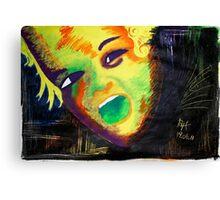 Rainbow Kid Canvas Print