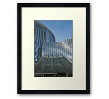 Aria Casino and Hotel Framed Print