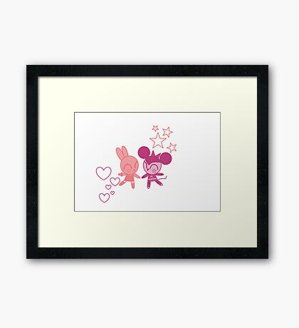 Carrot and Cheese Framed Print