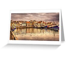 Pittenweem Harbour...Please View Larger Greeting Card