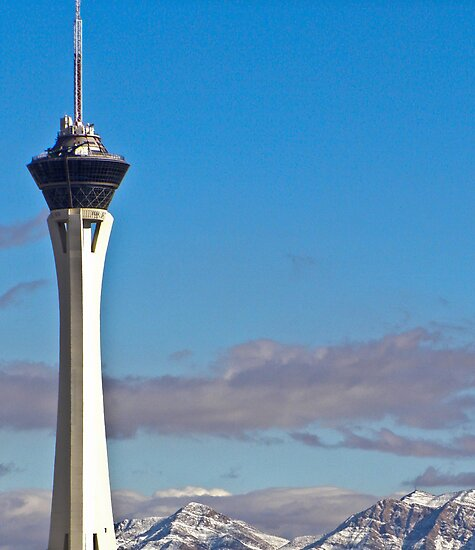 Stratosphere Tower December 2008 by Henry Plumley