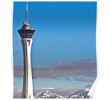 Stratosphere Tower December 2008 Poster