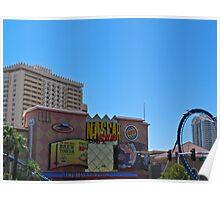 NASCAR Cafe at the Sahara Hotel and Casino Poster