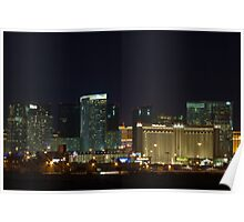 MGM City Center at Night Poster