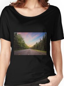 Sunset Landscape Women's Relaxed Fit T-Shirt