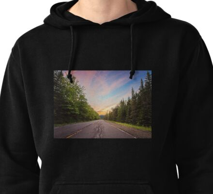 Sunset Landscape Pullover Hoodie