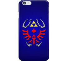 Link's shield Hylian Shield iPhone Case/Skin