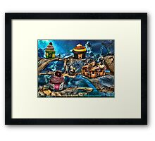 Cuppy Cakes Framed Print