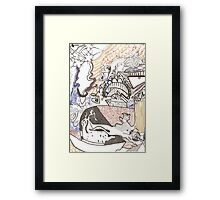 New life to explore Framed Print