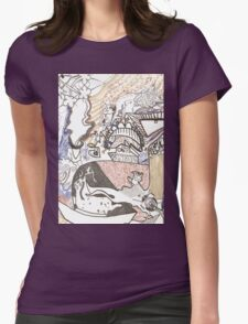 New life to explore Womens Fitted T-Shirt