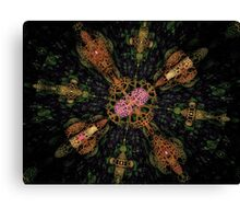Synthetic Life Creation Canvas Print