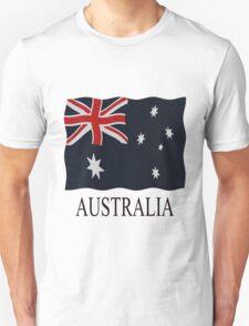 Australia flags Unisex T-Shirt