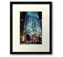 Helmsley Stop & Go Framed Print