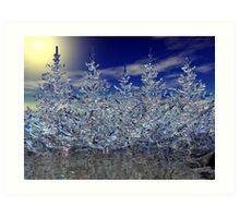 Winter Transformation Art Print