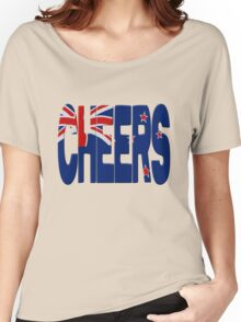 New Zealand Cheers Women's Relaxed Fit T-Shirt