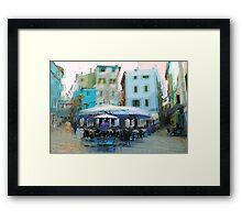 The Essence of Croatia -  Italian Cafe Framed Print