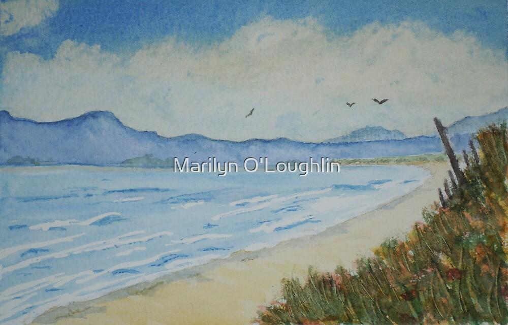 The Beach by Marilyn O'Loughlin