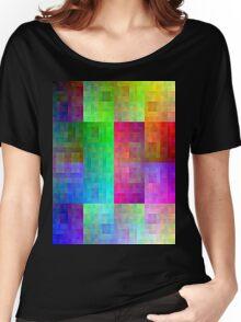 Hilbert curve colour Women's Relaxed Fit T-Shirt