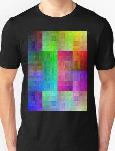 Hilbert curve colour T-Shirt