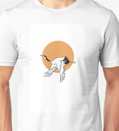 Flying Crane Unisex T-Shirt