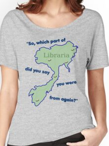 From Libraria Women's Relaxed Fit T-Shirt