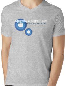 Sparrow and Nightingale Mens V-Neck T-Shirt