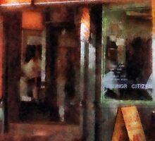 West Village Barber Shop by Susan Savad