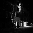 At Night When The City Pauses - East Village - New York City by Vivienne Gucwa