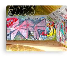 Brooklyn Graffiti Canvas Print