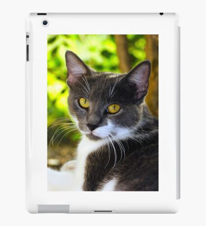 Yellow Eyes iPad Case/Skin