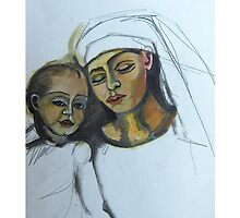 Mother and Child by Ruth Olivar Millan