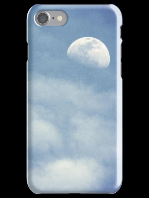 """Luna Nuvoloso"" - iPhone Case by Anthony Cherubino"