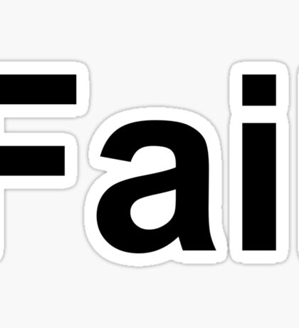 Fail Sticker
