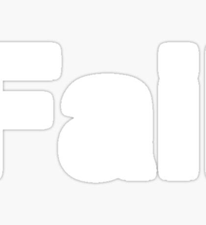 Fail (Reversed Colours) Sticker
