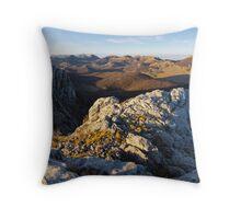 Top of the Velebit Throw Pillow