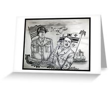 Faces of World War II Greeting Card