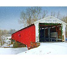 Country Christmas Photographic Print