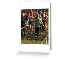 Herewood relay Greeting Card