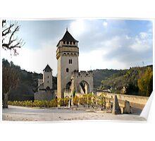 Pont Valentré, Cahors Poster