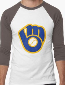 Brewers Men's Baseball ¾ T-Shirt