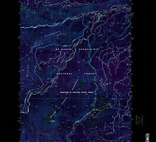 USGS Topo Map Washington State WA Old Scab Mountain 242932 2000 24000 Inverted by wetdryvac