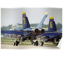 Blue Angels F/A-18 Poster