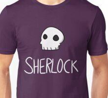 Sherlock - White Lettering Unisex T-Shirt